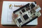 BeagleBone on its box